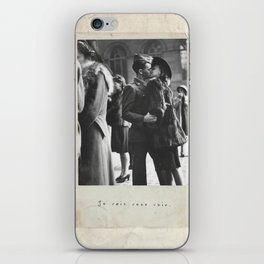 I'll Be Seeing You iPhone Skin