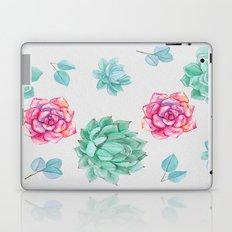 Winter Wildflowers & Succulents Laptop & iPad Skin