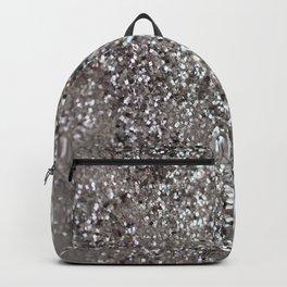 Sparkling SILVER Lady Glitter #1 #decor #art #society6 Backpack