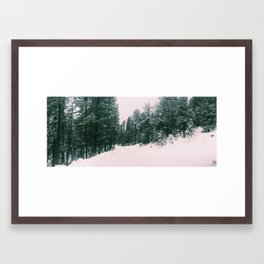 Mountains 13 Framed Art Print