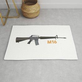 M16 Rifle Rug