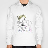 photographer Hoodies featuring Photographer by Diana Arend