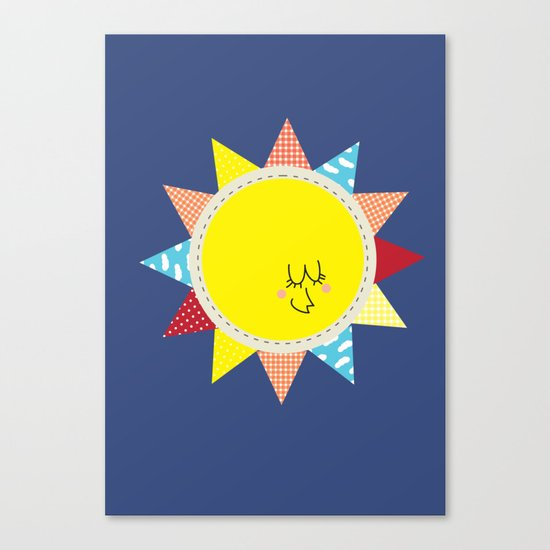 In the sun Canvas Print