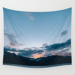Alaskan Mountain Dawn II Wall Tapestry