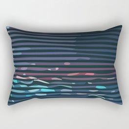 Wave #7 Rectangular Pillow