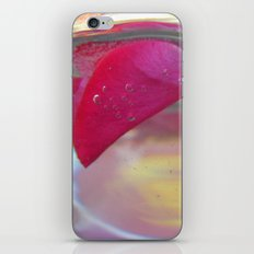 Rose Petals in Water iPhone & iPod Skin