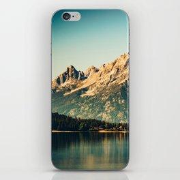Mountain Lake Escape iPhone Skin