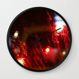 Rainy DayZ 33 Wall Clock