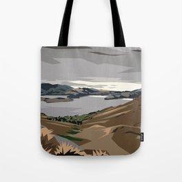 Cass Bay, New Zealand Tote Bag
