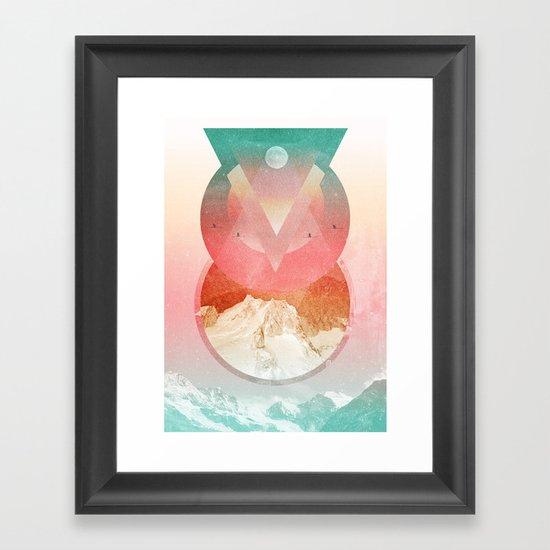Emigrate Framed Art Print