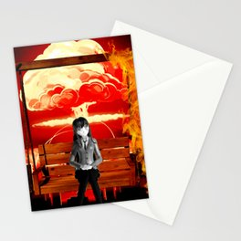 Dream world take me away Stationery Cards
