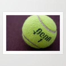 Anyone for tennis? Art Print