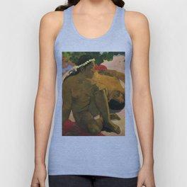 """Paul Gauguin """"Aha Oe Feii? (Eh quoi! Tu es jaloux?)"""" Unisex Tank Top"""