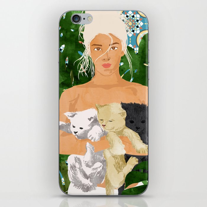 Morocco Vacay #illustration #painting iPhone Skin