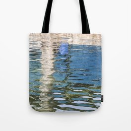 Reflecting Blues Tote Bag