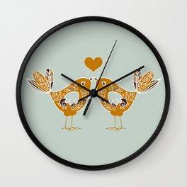 Piopio e Piapia Wall Clock
