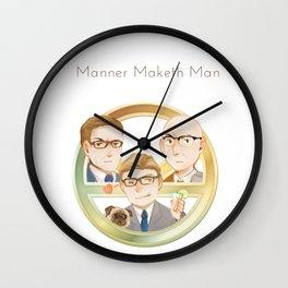 Kimgsman Trio Wall Clock