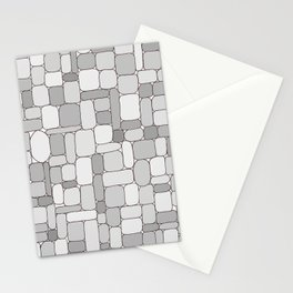 Stone Wall #4 - Grays Stationery Cards