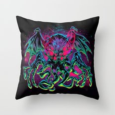 COSMIC HORROR CTHULHU Throw Pillow