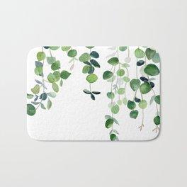 Eucalyptus Watercolor 2  Bath Mat