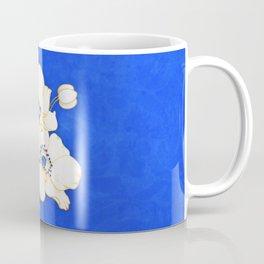 Ultramarine Blue :: Anemones Coffee Mug