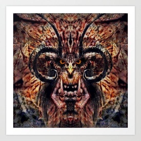 Caliban Art Print