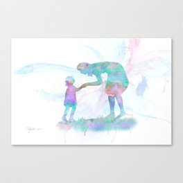 10839 Mom and Me Canvas Print