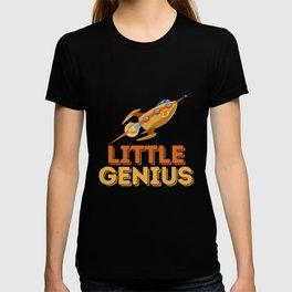 Little Genius Rocket  - Fun Science Kid Spaceship T-shirt