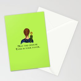 May The Odds Be Ever In Your Favor Stationery Cards