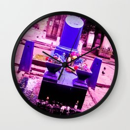 The most sinister cemetery grave. Wall Clock