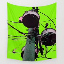 Industrial Electric Musings Wall Tapestry