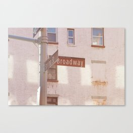 Spring Street and Broadway Canvas Print