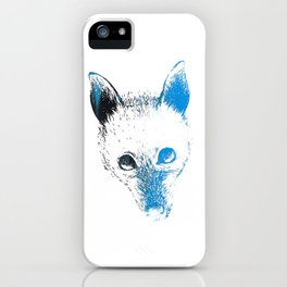 Flying fox face iPhone Case