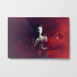 Red Communion Metal Print