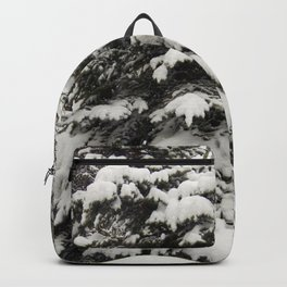 Carol M Highsmith - Snowy Pine Trees Backpack