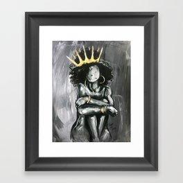 Naturally Queen IX Framed Art Print