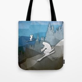 The Skiers Tote Bag
