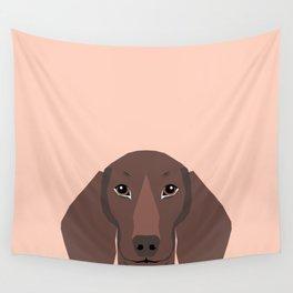 Remy - Daschund hipster dog, doxie, weiner dog, wiener dog,  Wall Tapestry