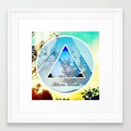 Element 6 Framed Art Print
