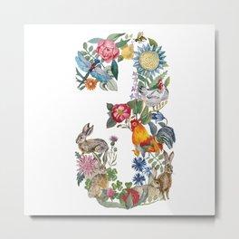 Russian letter Z Metal Print