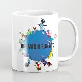 Dream big fun NYC fashionista cats Coffee Mug