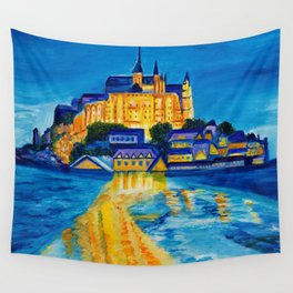 Mont St Michel Wall Tapestry