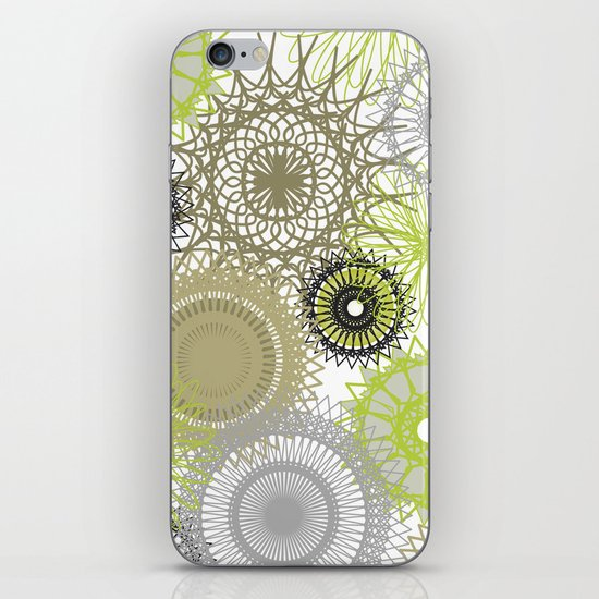 Modern Spiro Art #6 iPhone & iPod Skin