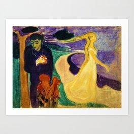 Edvard Munch - Separation - Digital Remastered Edition Art Print