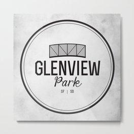 Glenview Park Metal Print