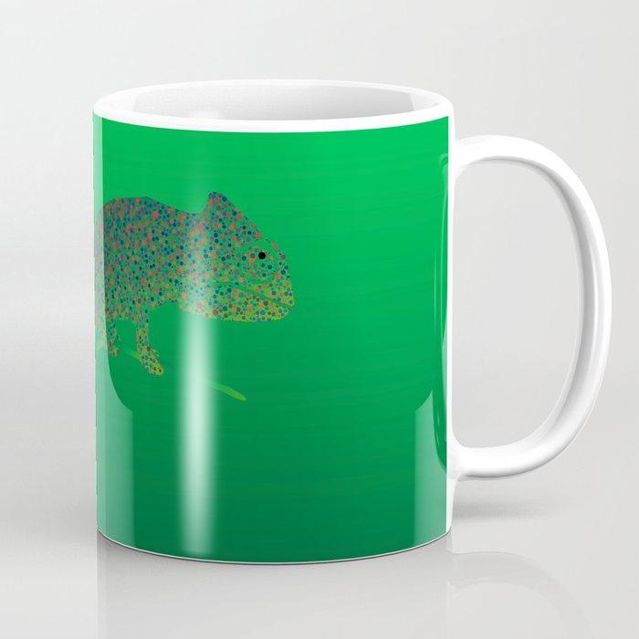 Colorful language of chameleons Coffee Mug