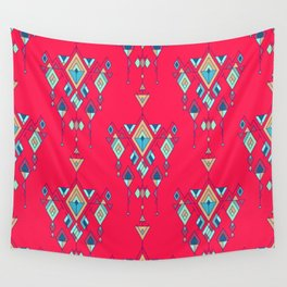 Vintage ethnic tribal aztec ornament Wall Tapestry