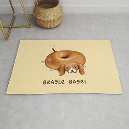 Beagle Bagel Rug