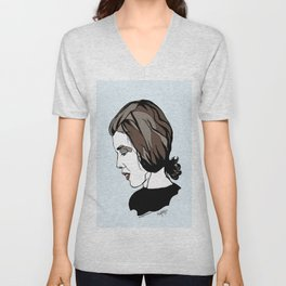 Delia Derbyshire Composer Cambridge Oxford England UK Wall Art Artist Musician Electronic  Unisex V-Neck