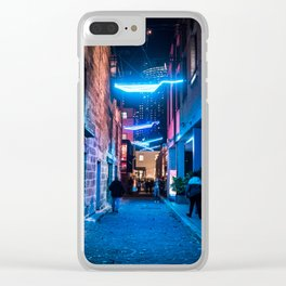 Luminous Flight Clear iPhone Case